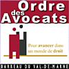 logo de l'Ordre des Avocats - Barreau du Val de Marne