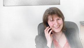 Elodie Galat, collaboratrice de Maître Kirfel à son cabinet d'avocats à maisons-alfort